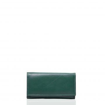 Portofel din piele naturala M21101K Verde