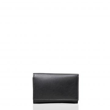 Portofel din piele naturala M21107A Negru