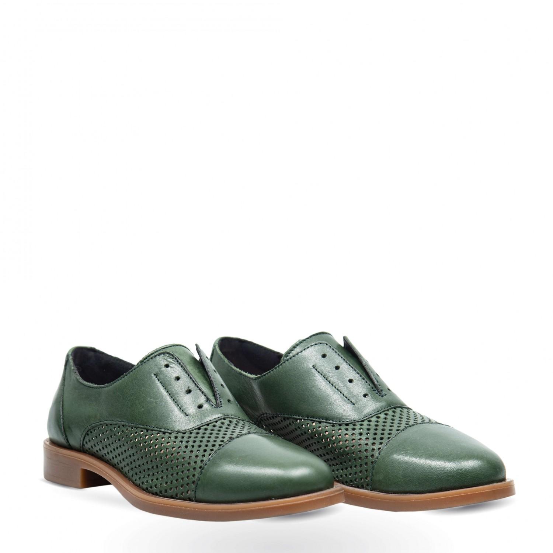Pantofi din piele naturala PE1032