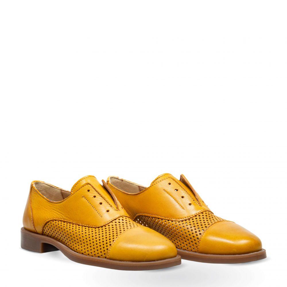 Pantofi din piele naturala PE1034