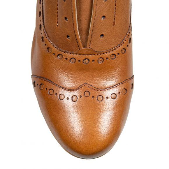 Pantofi din piele naturala PE1041