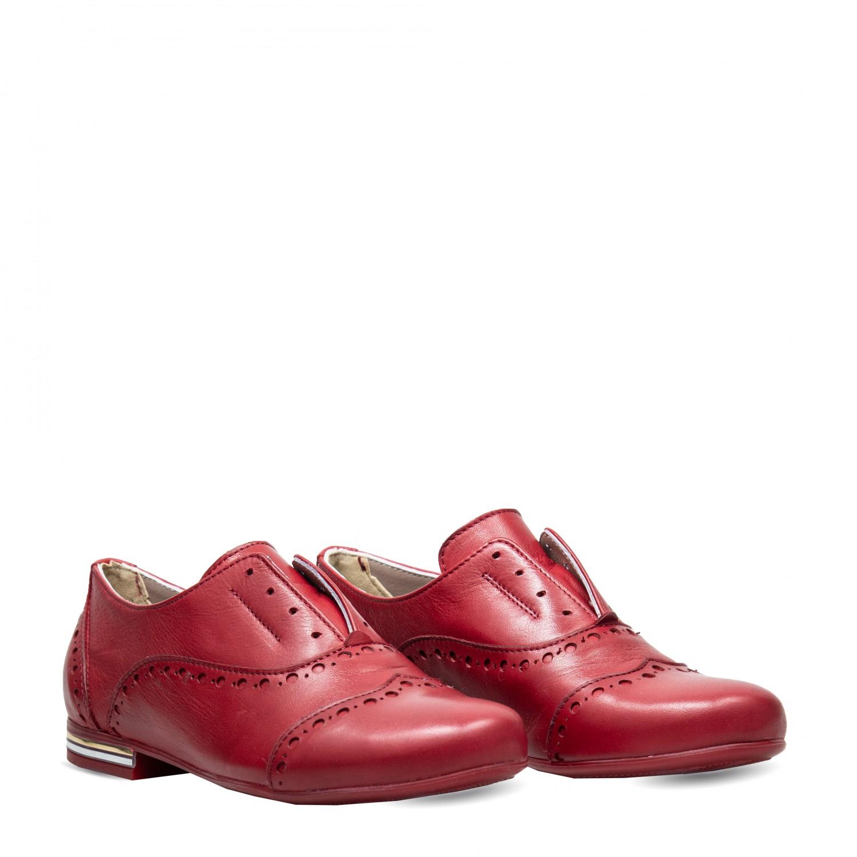 Pantofi din piele naturala PE1075
