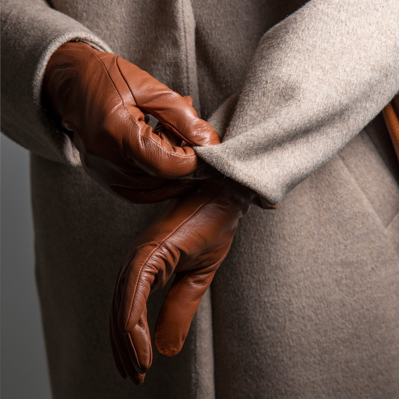 Manusi dama din piele naturala G01-04-CUOIO