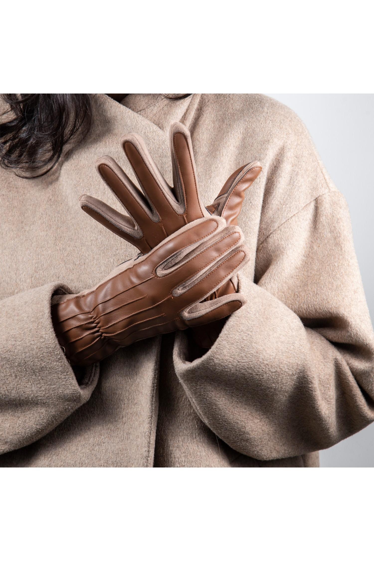 Manusi dama din piele naturala G04-02-CUOIO