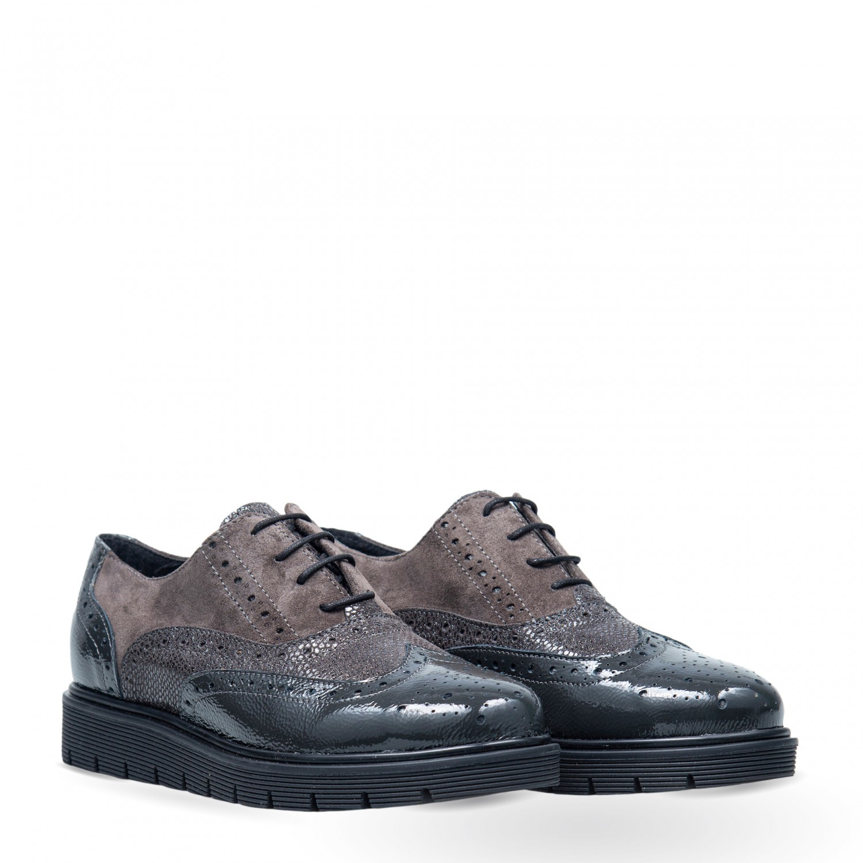 Pantofi de damă din piele naturală PH1035