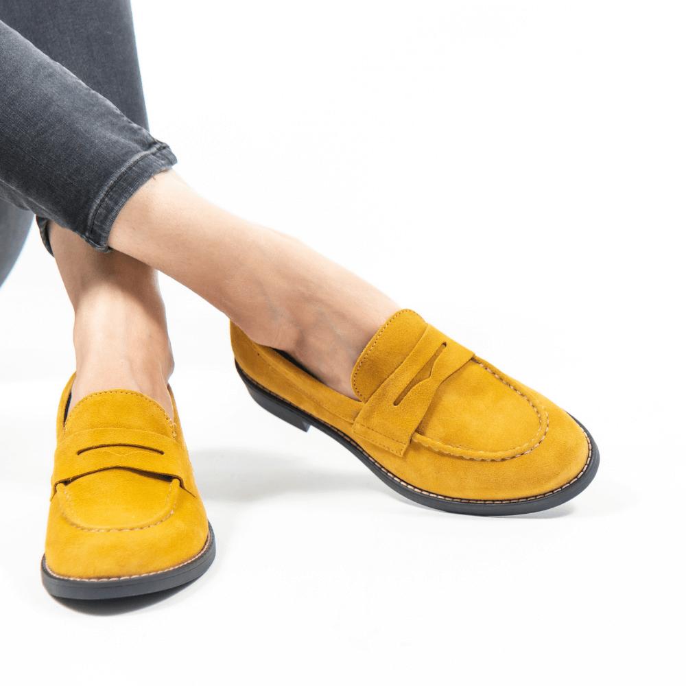Pantofi de damă din piele naturală PH1010A