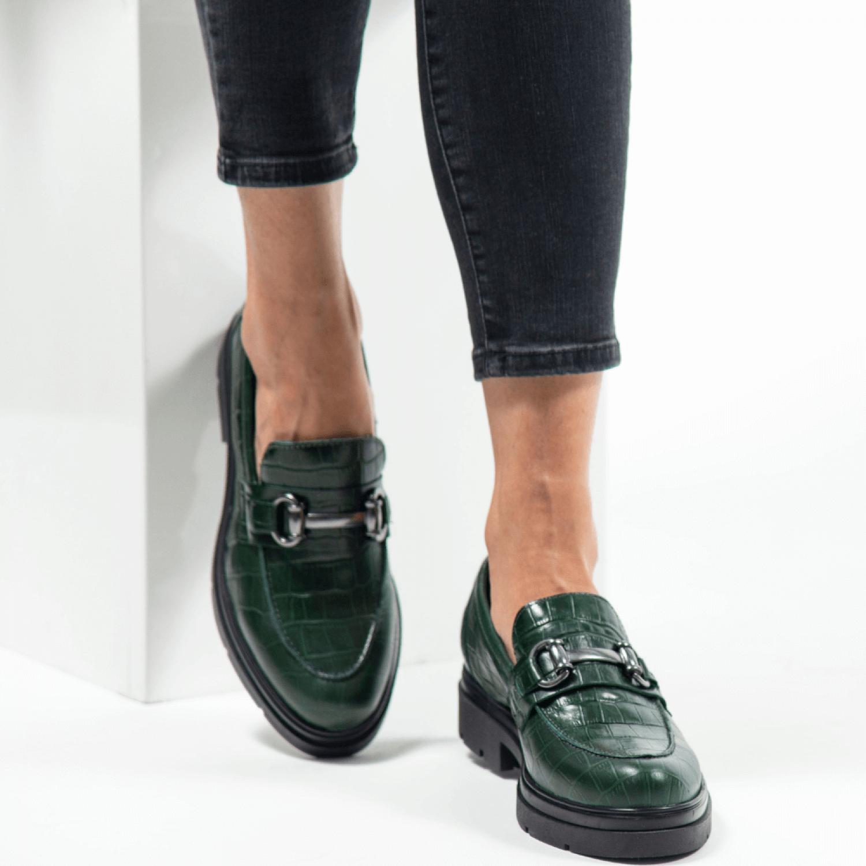 Pantofi de damă din piele naturală PH1028