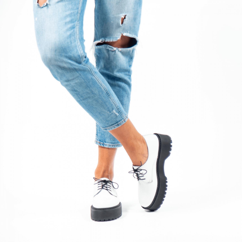 Pantofi de damă din piele naturală PH1030