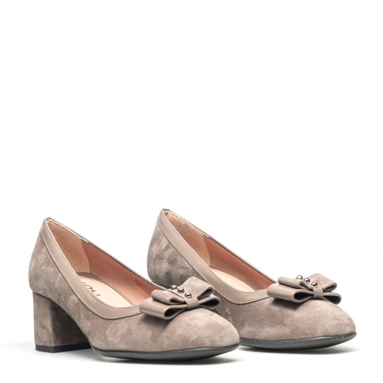 Pantofi de damă din piele naturala PH1042
