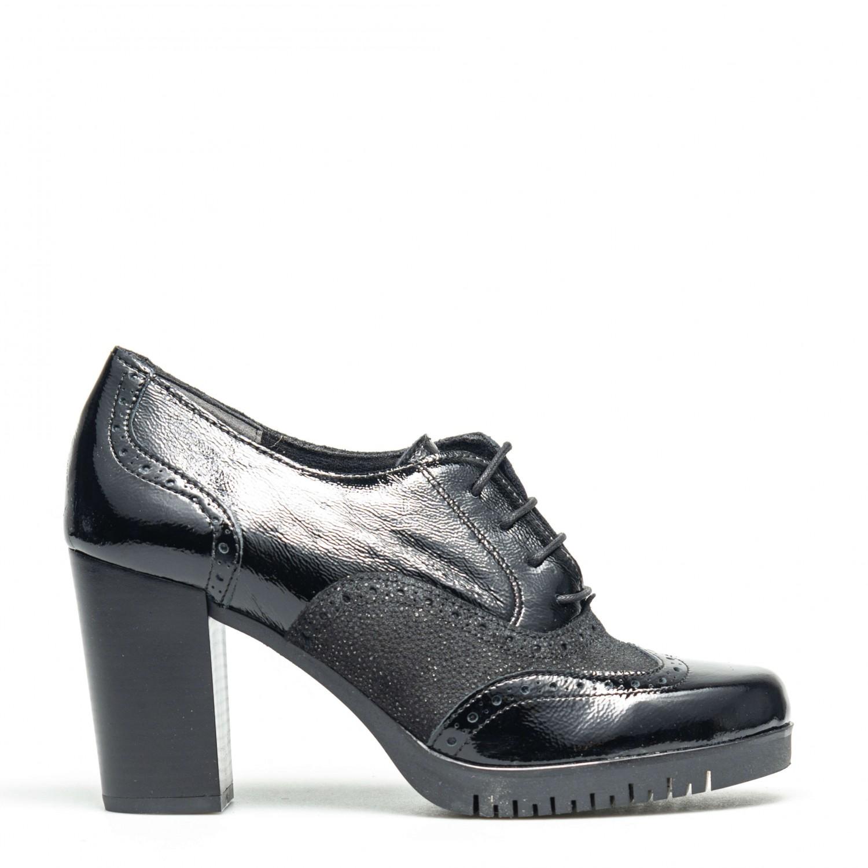 Pantofi de dama din piele naturală PH1046