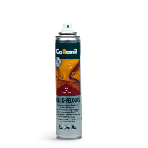 Spray  IMPERMEABILITATE nabuk si piele intoarsa ROSU
